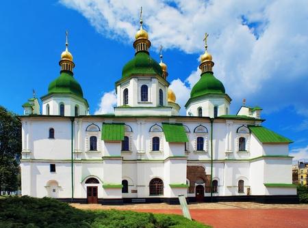 Saint Sophia kathedraal in Kiev, Oekraïne Stockfoto - 8938031