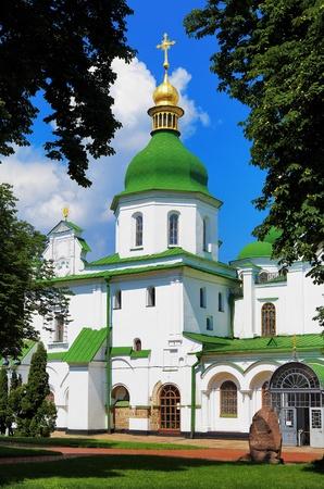 ukraine: Saint Sophia Cathedral in Kiev, Ukraine Stock Photo