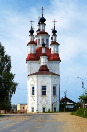 Church of the Entry of the Lord into Jerusalem in Totma, Vologda Region, Russia Stock Photo - 8938072