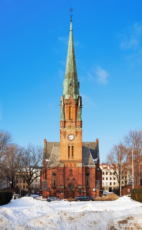 paulus: Paulus Church in the borough Grunerlokka in the Oslo, Norway Stock Photo