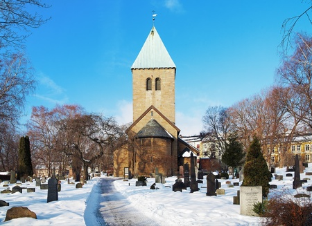 oldest: Gamle Aker Kirke - The oldest Church in Oslo, Norway