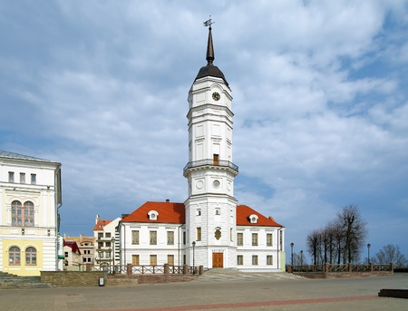 Town hall of Mogilev (reconstruction), Belarus photo