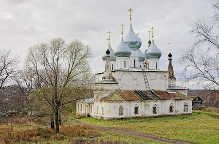 Cathedral of the Holy Cross Exaltation in Tutaev (former Romanov), Russia Stock Photo - 11210568