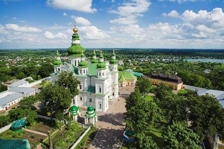 Assumption Cathedral in Eletskiy Assumption monastery in Chernigov, Ukraine photo