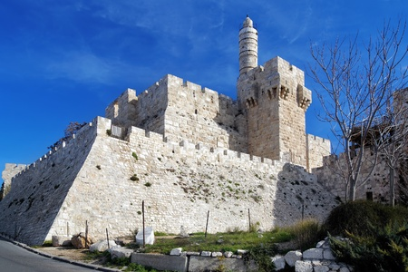 Citadel and Tower of David in Jerusalem, Israel photo