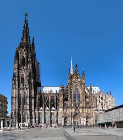 Cologne Cathedral on the south side, Germany photo