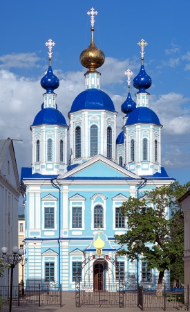 Kazan Cathedral of Kazan Monastery in Tambov, Russia Stock Photo - 13607377
