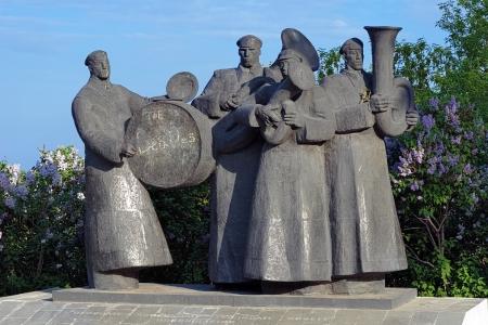 nicknamed: International Monument nicknamed as Beatles in Lipetsk, Russia
