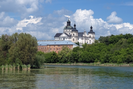 Monastery of Discalced Carmelites with Church of the Immaculate Conception in Berdychiv, Ukraine photo