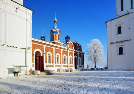 Church of the Tikhvin Icon of Our Lady on the Cathedral Square in Kolomna Kremlin, Russia photo