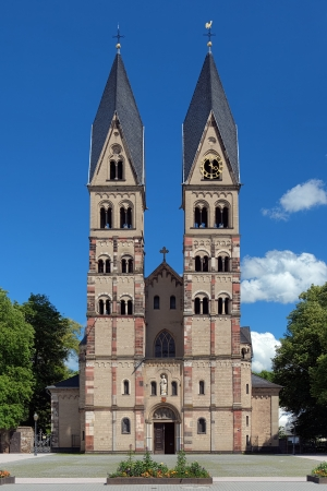 The Basilica of St Castor - the oldest church in Koblenz, Germany photo