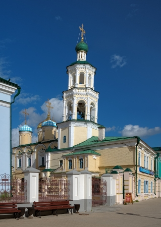 intercession: Church of the Intercession and Belfry of the St Nicholas Cathedral in Kazan, Tatarstan, Russia