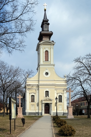 Serbian orthodox Church of Ascension in Subotica Stock Photo - 16335502