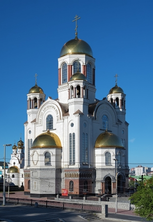 The Church on Blood in Honour of All Saints in Yekaterinburg, Russia Stock Photo - 16614918