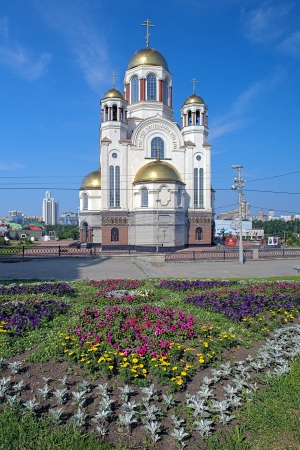 Church on Blood in Honour of All Saints Resplendent in the Russian Land, Yekaterinburg, Russia Stock Photo - 16850362