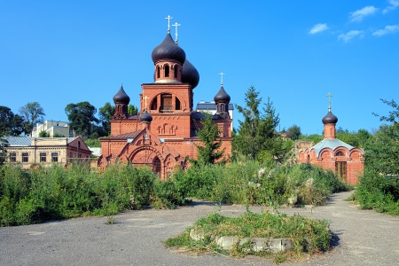 believers: Orthodox Old Believers Cathedral of the Intercession in Kazan  under restoration , Republic of Tatarstan, Russia