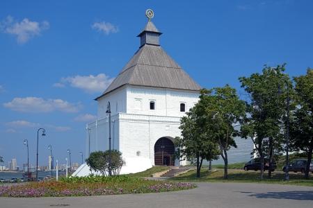 The Taynitskaya tower of the Kazan Kremlin, Tatarstan, Russia Stock Photo - 17935723
