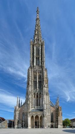 Ulm Minster, de grootste kerk in de wereld, Duitsland