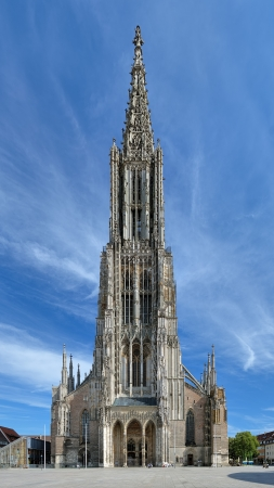 Ulm Minster, the tallest church in the world, Germany