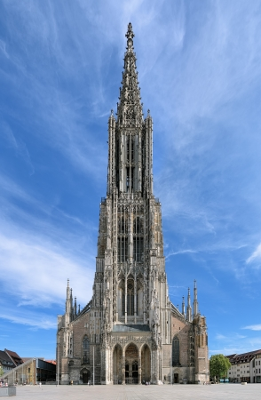 Ulm Minster, the tallest church in the world, Germany photo