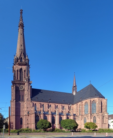 karlsruhe: Catholic church of St Bernard in Karlsruhe, Germany