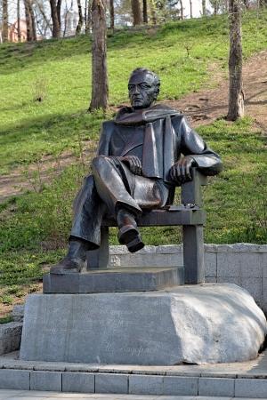 nikolay: Monument of soviet writer Nikolay Zadornov in Khabarovsk, Far East, Russia