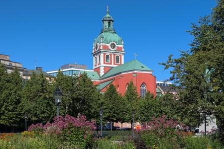 Saint James Church in Stockholm, Sweden Stock Photo - 23996762