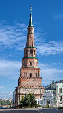 The Soyembika Tower of the Kazan Kremlin, Tatarstan, Russia