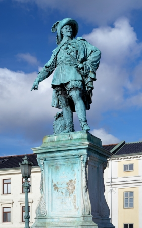 adolf: Monument to swedish king Gustav II Adolf in Gothenburg, Sweden