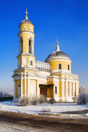 exaltation: Church of the Holy Cross Exaltation in Kolomna, Russia