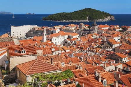 Dubrovnik old town, Croatia photo