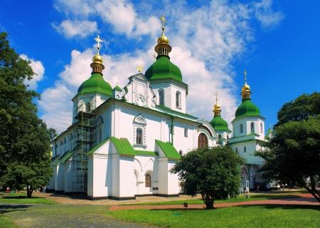 Saint Sophia Cathedral in Kiev, Ukraine photo