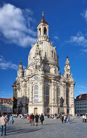 frauenkirche: Frauenkirche in Dresden, Deutschland