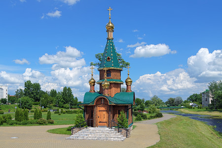 Wooden chapel of Saint Barbara in Slutsk, Belarus