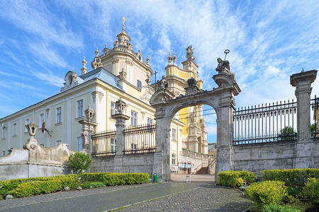 Cathedral of St. George in Lviv, Ukraine