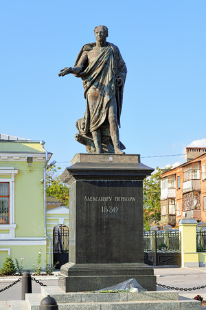 alexander: Monument to Alexander I in Taganrog, Russia