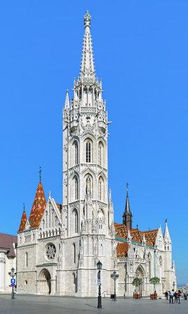 matthias church: Matthias Church in Budas Castle District of Budapest, Hungary Editorial