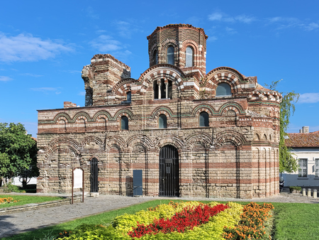 Church of Christ Pantocrator of the 13th-14th century in Nessebar, Bulgaria Stock Photo