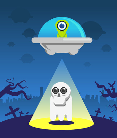abduction: Alien abduction Illustration