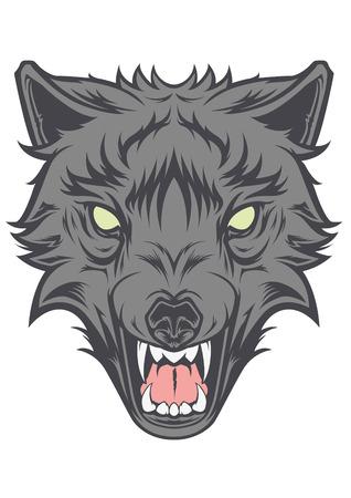 Wolf Head Vector Vector