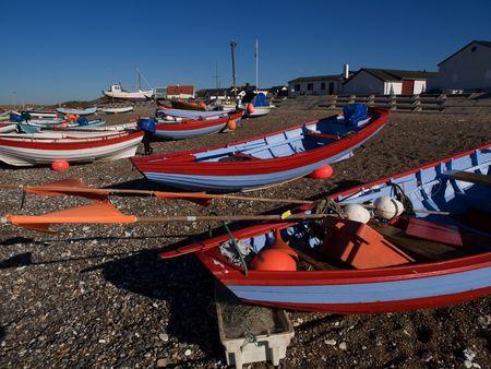 fishingboats: Fishingboats on coast