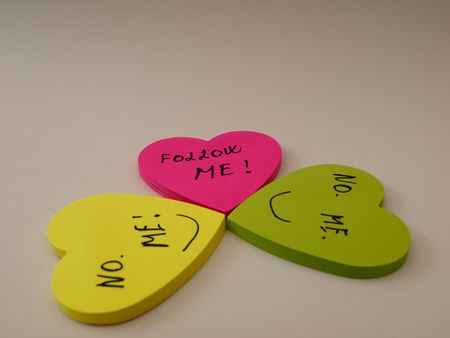 decission: Confusion wich heart to follow