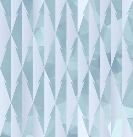 fur tree: Light geometric Christmas Seamless pattern with fur tree. New Year polygonal background. Vector,  EPS 8. Illustration