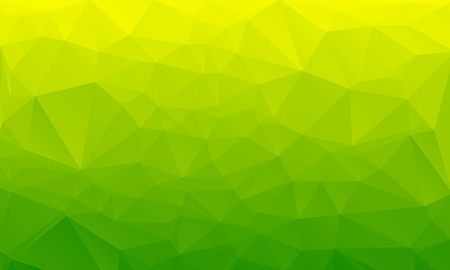 Salad green abstract polygonal geometric background -- low poly. Vector illustration