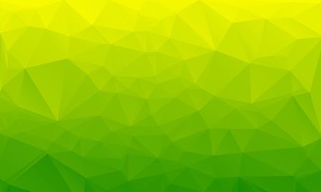 Sałatka zielony streszczenie wielokątne geometryczne tło - low poly. Ilustracja wektorowa