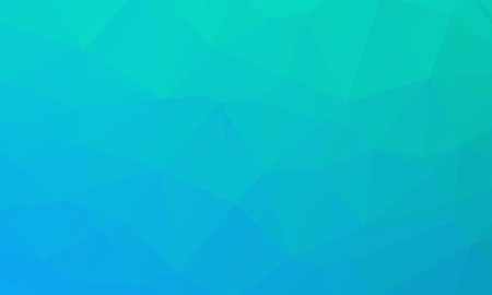 aqua background: Vector abstract bright blue geometric background, consists of triangles. Polygonal abstract aqua background. Vector illustration
