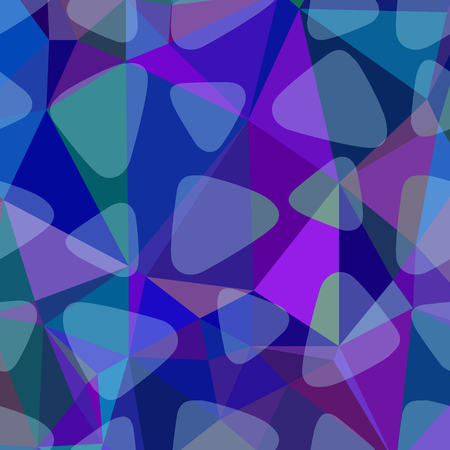 navy blue background: Blue, purple and navy abstract polygonal background