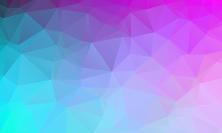 Abstract natural polygonal background. Smooth spring colors blue to purple. Vector illustration Ilustrace