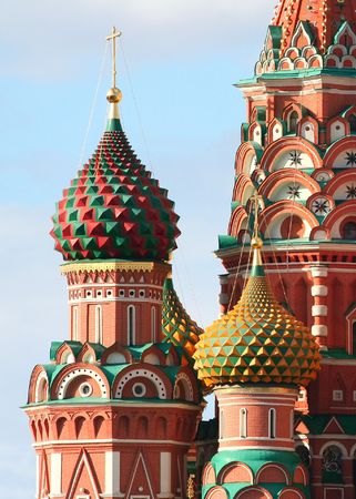 red square moscow: The Cathedral of Saint Basil, Red square, Moscow, Russia