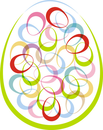 The symbol of Easter for design projects, vector illustration